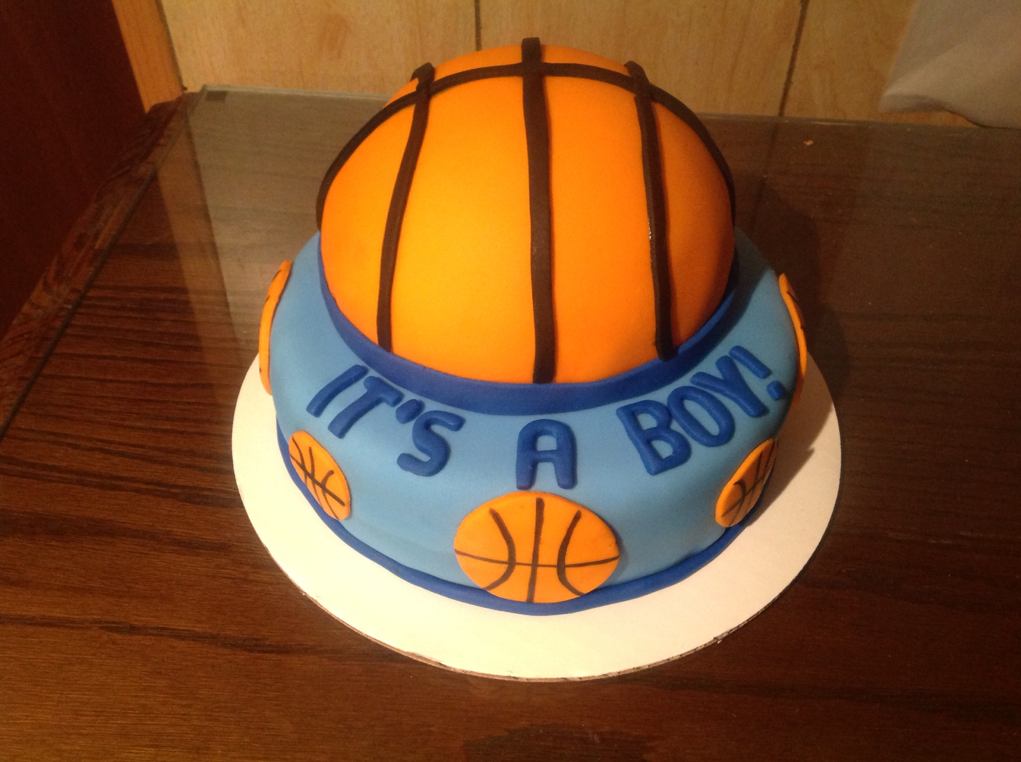 basketball cakes for girls