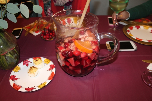 Sangria: Thanksgiving Edition!