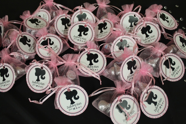 Adorable party favors Heather made!